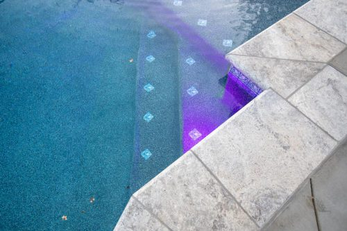 residential swimming pool built by Orange County pool contractors