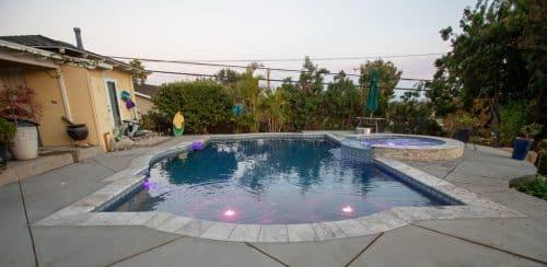 custom pool design from Orange County pool contractors