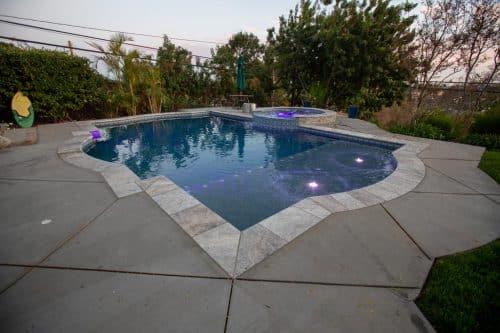 custom pool design in Orange County by Pool Icons pool builders