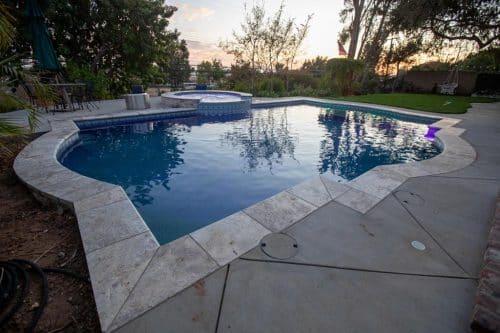 custom Orange County swimming pool design by Pool Icons