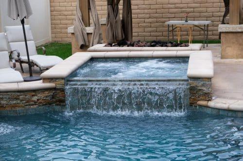 luxury residential swimming pool from Los Angeles pool builders Pool Icons