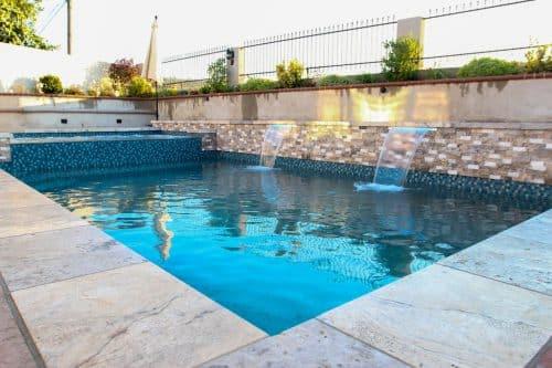 building a backyard pool